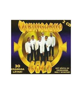 Vikingarna – Gold - 30 Kramgoa Låtar! - 2 CD - BRUGT