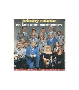 Johnny Reimar – 25 års Jubilæumsparty - CD - BRUGT