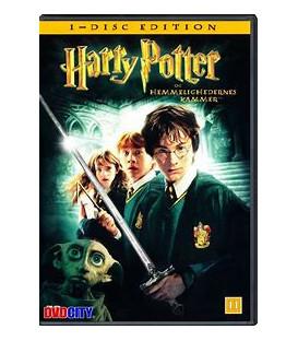 Harry Potter Og Hemmelighedernes Kammer - DVD - BRUGT