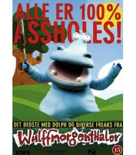 Alle er 100% Assholes! - DVD - BRUGT