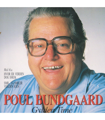 Poul Bundgaard Gylden time - CD - BRUGT