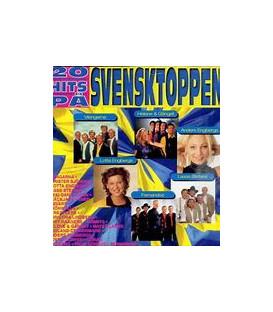 20 HITS PÅ SVENSKTOPPEN - CD - BRUGT