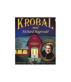 Richard Ragnvald - Krobal med Richard Ragnvald - CD - BRUGT