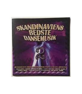 Skandinaviens bedste dansemusik 2 : 40 dansehits med Skandinaviens populæreste artister - 2 CD - BRUGT
