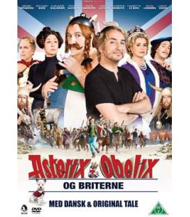 Asterix & Obelix og Briterne - DVD - BRUGT