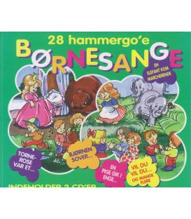 28 hammergo'e børnesange vol. 2 - 2 CD - BRUGT