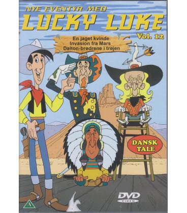 Lucky Luke: Nye Eventyr Med vol. 12 - DVD - BRUGT