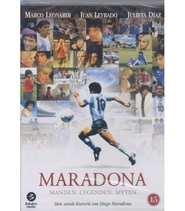 Maradona: Manden. Legenden. Myten - DVD - BRUGT