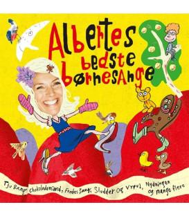 Albertes Bedste Børnesange - CD - BRUGT