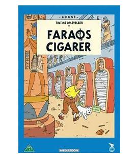 Tintin - Faraos Cigarer - DVD - BRUGT