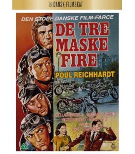 De tre, måske fire - (DANSK FILMSKAT) - DVD - NYHED NOVEMBER 2020