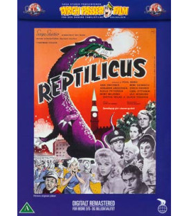 Reptilicus - DVD - BRUGT