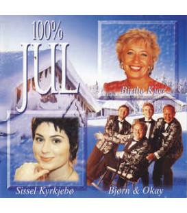 100% Jul - CD -BRUGT
