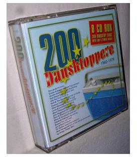 200 DANSKTOPPERE 1960-1979 - 8 CD