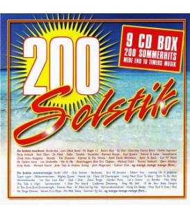 200 SOLSTIK - 9 CD - BRUGT