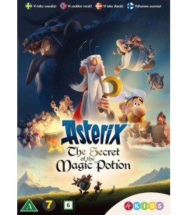 Asterix: The Secret of the Magic Potion - DVD - BRUGT