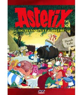 Asterix Og Hans Gæve Gallere - DVD - BRUGT