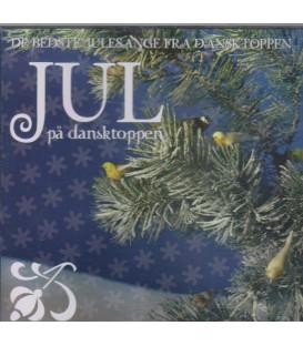 Jul på dansktoppen - CD - BRUGT
