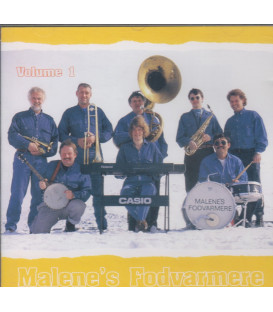 Malenes Fodvarmene - CD - BRUGT