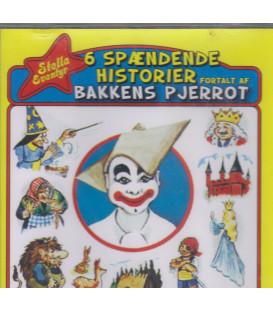 6 spændende historier fortalt af Bakkens Pjerrot - Stella - CD - NY