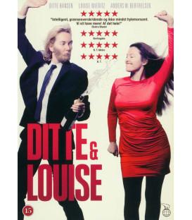 Ditte & Louise - DVD - BRUGT