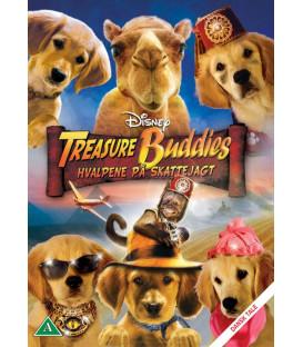 Treasure Buddies: Hvalpene på skattejagt - Disney - DVD - BRUGT