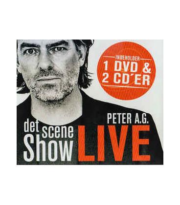 Peter A.G. – Det Scene Show - Live - 2 CD - 1 DVD - BRUGT