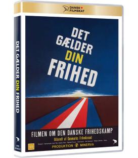 Det gælder din frihed (Dansk Filmskat) - DVD - NY - Januar 2021