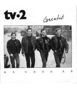 TV-2 - DE UNGE ÅR, GREATEST - 2CD - BRUGT