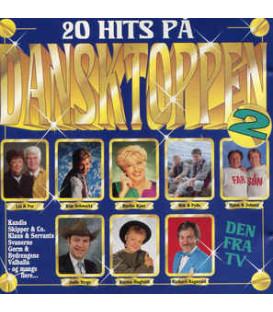 20 hits på Dansktoppen, 2 - CD - BRUGT