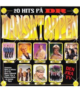 20 hits på DR Dansktoppen - CD - BRUGT