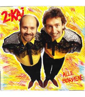 2 X Kaj – Alle børnene - CD - BRUGT