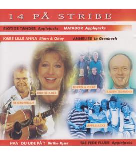 14 på stribe - CD - BRUGT