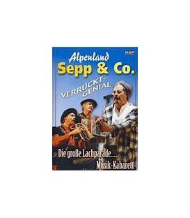 ALPENLAND SEPP & CO. - VERRÜCKT-GENIAL/LIVE (MUSIK DVD) - BRUGT