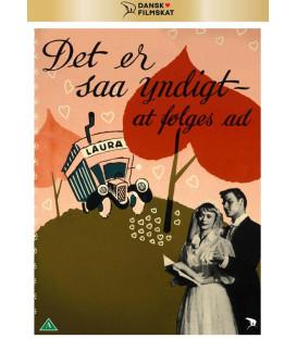 DET ER SÅ YNDIGT AT FØLGES AD - DVD - NY - NYHED MAJ 2021 - Kan først leveres 6/5