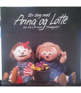Anna Og Lotte – En Dag Med Anna Og Lotte - CD - BRUGT
