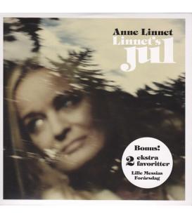 Anne Linnet – Linnet's Jul - CD - BRUGT- PAPCOVER