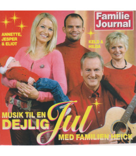 Keld Heick - Musik til en dejlig jul med familien Heick - CD - BRUGT