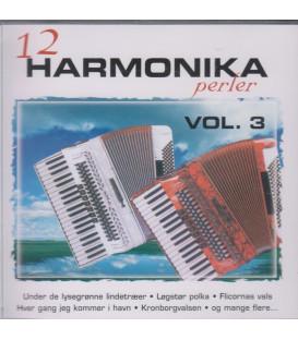 12 HARMONIKAPERLER VOL. 3 - CD - BRUGT
