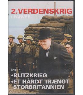 2. Verdenskrig I Farver - Del 2 - DVD - BRUGT