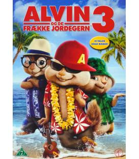 Alvin og de frække jordegern 3 - DVD - BRUGT