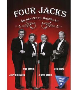 Four Jacks: Åh, den vej til Mandalay (DVD & CD) - NY