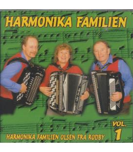Harmonika Familien vol. 1 - CD - BRUGT