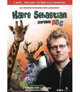 Kære Sebastian: Dyrenes ABC (DVD & CD) - BRUGT