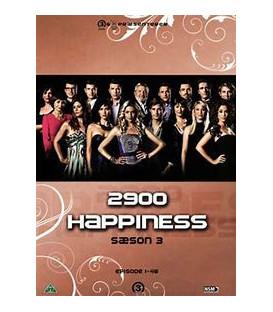2900 Happiness: Sæson 3 - 6 DVD - BRUGT