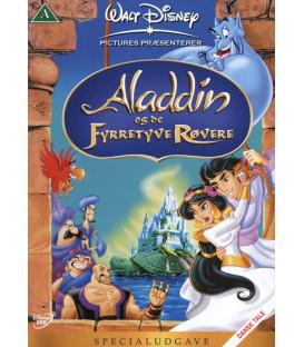 ALADDIN - OG DE FYRRETYVE RØVERE - Disney - Specialudgave - DVD - BRUGT