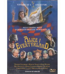 Alice I Eventyrland - Whoopi Goldberg - DVD - BRUGT