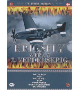 Krigsfly fra 2. Verdenskrig - 7 DVD - BRUGT