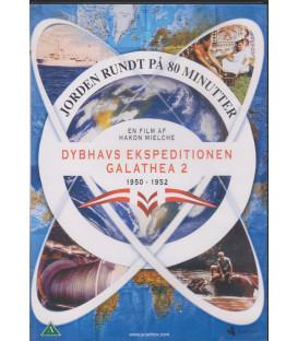 Jorden Rundt På 80 Minutter - Dybhavs Ekspeditionen Galathea 2 - DVD - BRUGT
