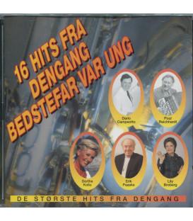 16 Hits Fra Dengang Bedstefar Var Ung - CD - BRUGT